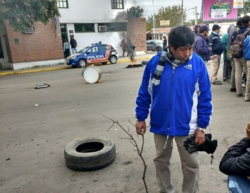 Municipales de Valle Viejo se manifiestan