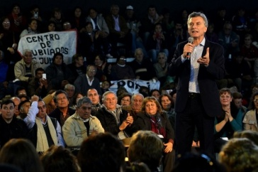 Macri, en Santiago del Estero: